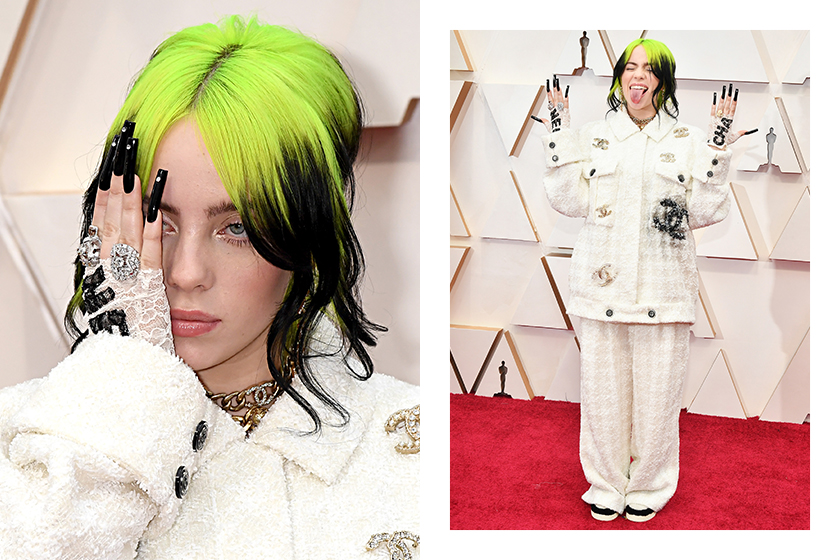 Billie Eilish Chanel Oscars 2020 Red Carpet