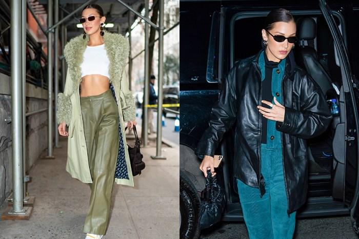 想要跟學 Bella Hadid 時裝週的私服造型,這款出鏡率最高的外套是關鍵!