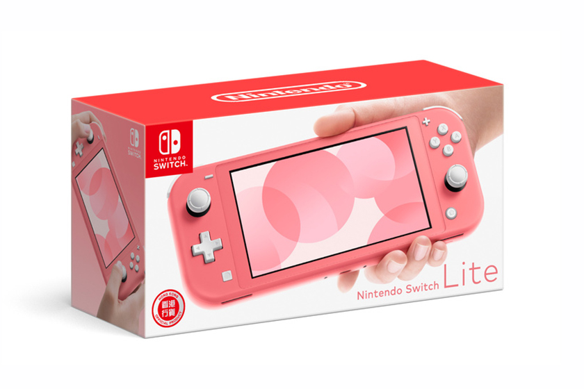 Nintendo Switch Lite Living Coral New Color
