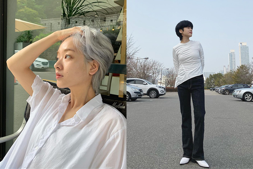 Korean Actress Lee Joo Young short haircut Itaewon Class