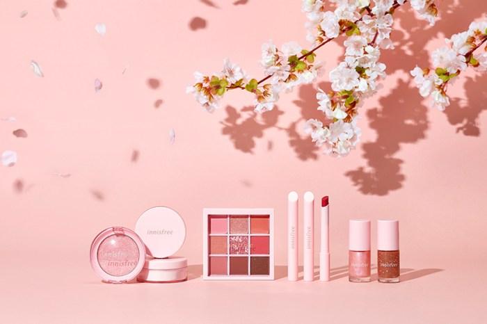灑滿濟州島的甜美花瓣:Innisfree 再次為春季推出迷人的櫻花系列彩妝!
