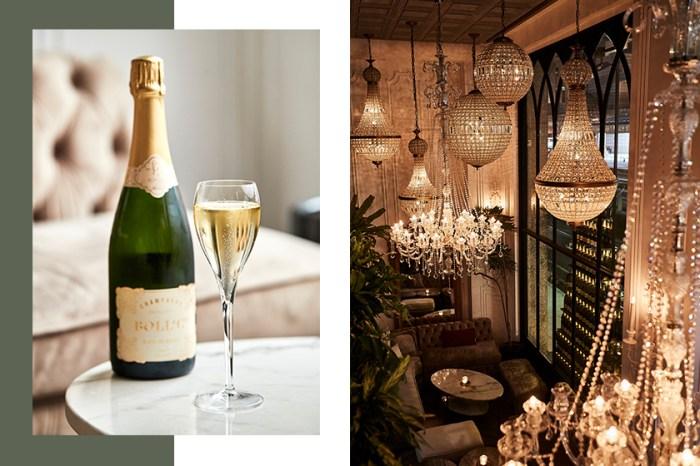 專門為女生打造的時尚 Champagne Bar 登場:和姊妹夜晚的浪漫角落!