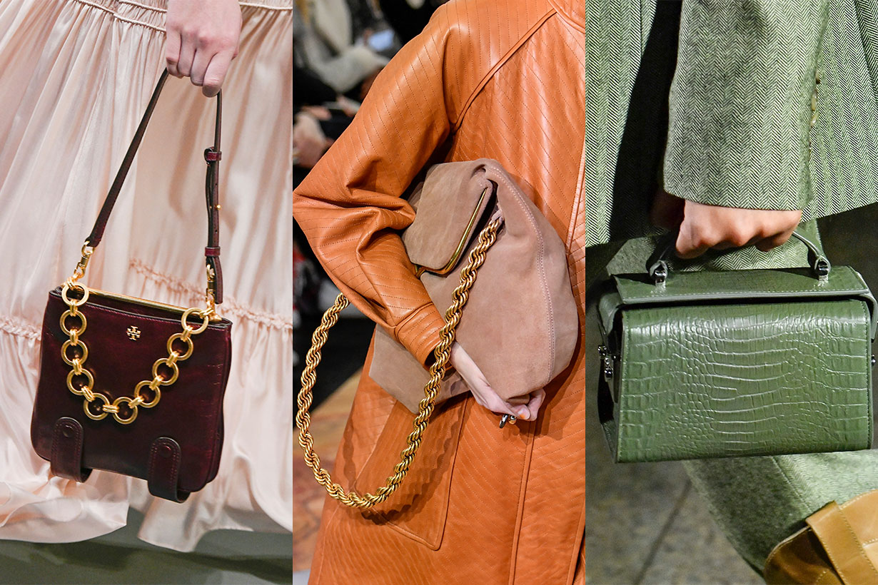 Fall 2020's Best Bags Fresh off the Runway