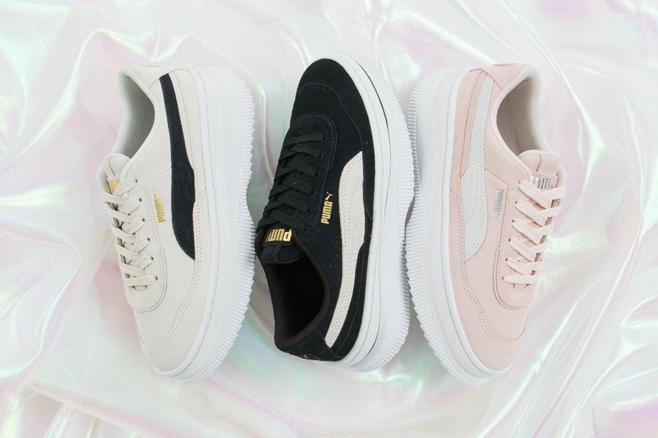 Puma Deva Suede Pink Sneakers