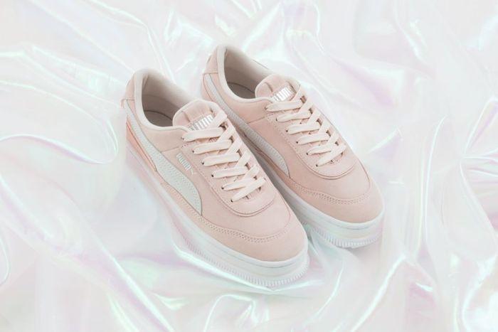 嬌小女生必要收藏:Puma 為人氣的鬆糕厚底鞋推出三款淡雅的質感配色!