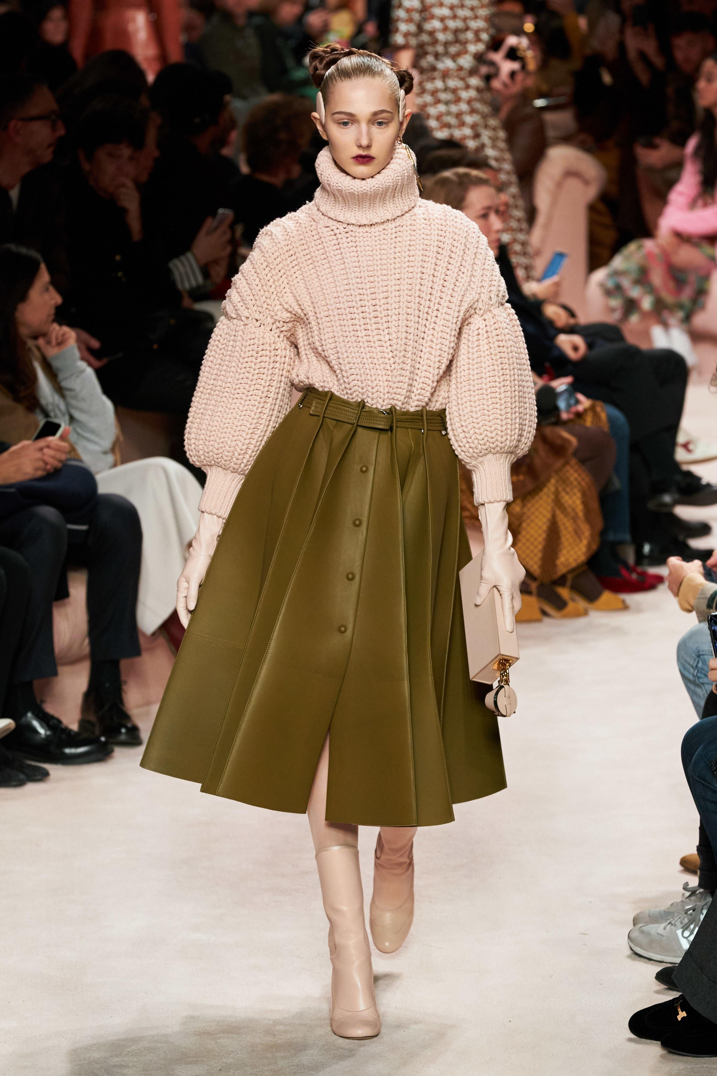 fendi fall 2020 ready to wear Milan fashion show