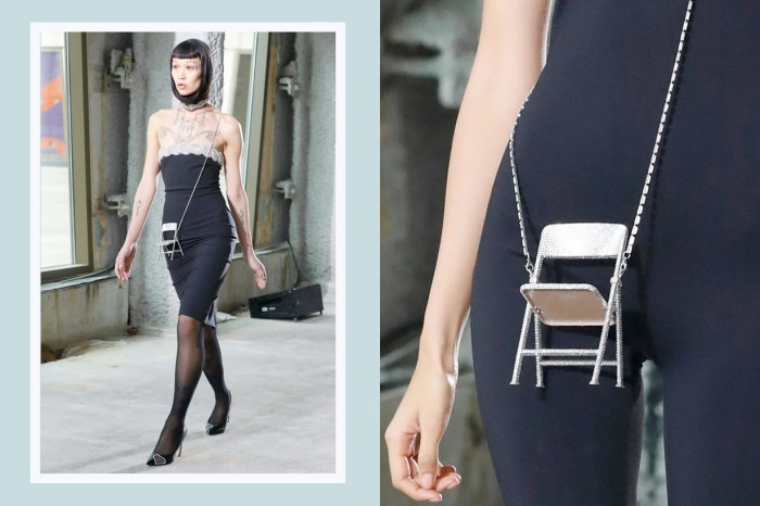 #NYFW:藏在生活中的巧思,Area 將日常折疊椅搖身一變成為伸展台注目單品!