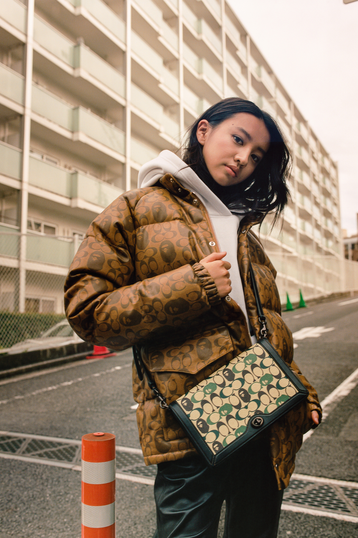 koki bape x coach Collection lookbook