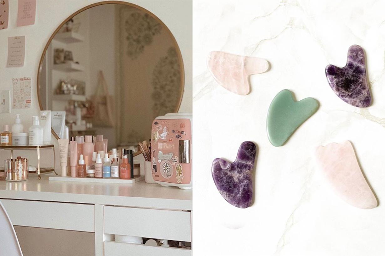 beauty gau sha massage home facial skincare tips guide