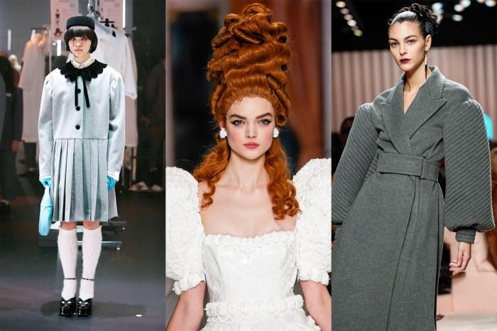 #MFW:黑淚痕、編髮髮髻、瑪麗皇后髮型,最浮誇的美妝髮型都盡在米蘭時裝週上!
