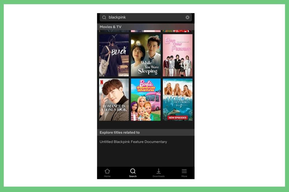 BLACKPINK Jennie Lisa Rose Jisoo Netflix Documentary Twitter k pop korean idols celebrities singers girl bands
