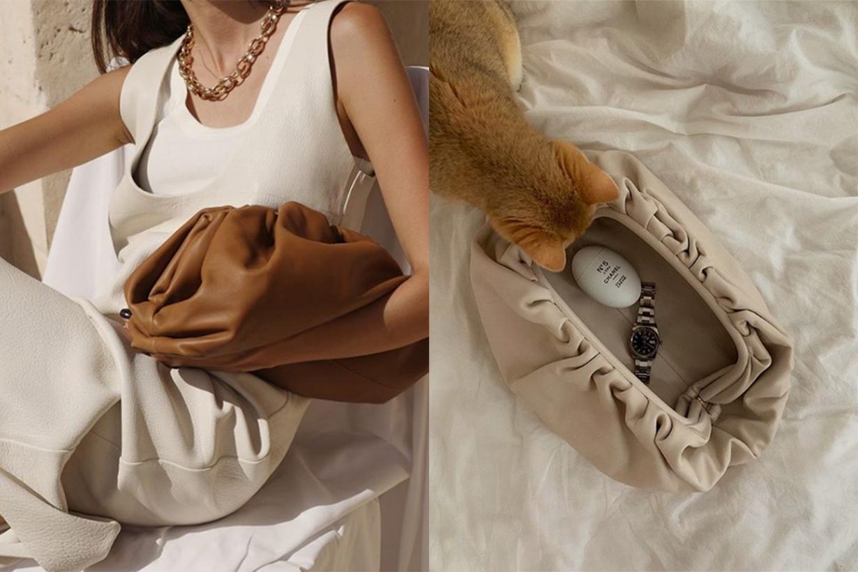 bottega veneta pouch bag origins daniel lee