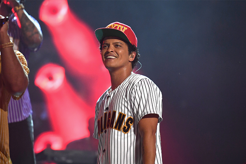Bruno Mars collaborate with Disney for new music-themed film