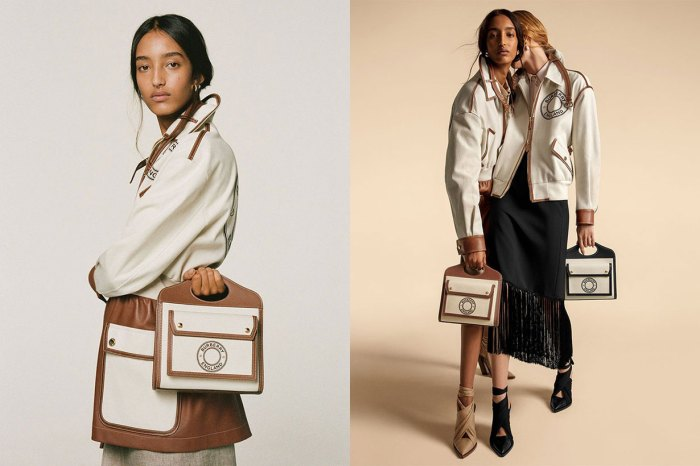 Burberry 經典袋款換上帆布設計,高級簡雅風格定是女生春夏至愛!