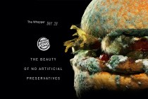 Burger King 最新廣告以霉菌作賣點,雖然噁心卻惹來無限掌聲!