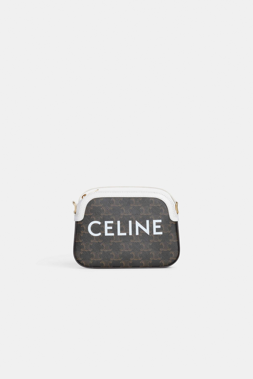 celine triomphe canvas hedi slimane 2020 ss new handbags