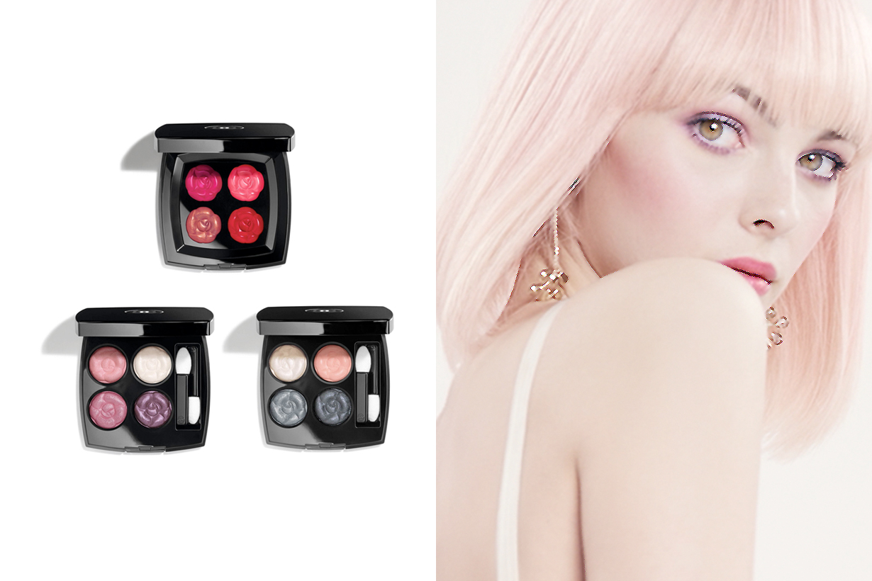 chanel beauty limited edition 2020 spring eyeshadow lip palette