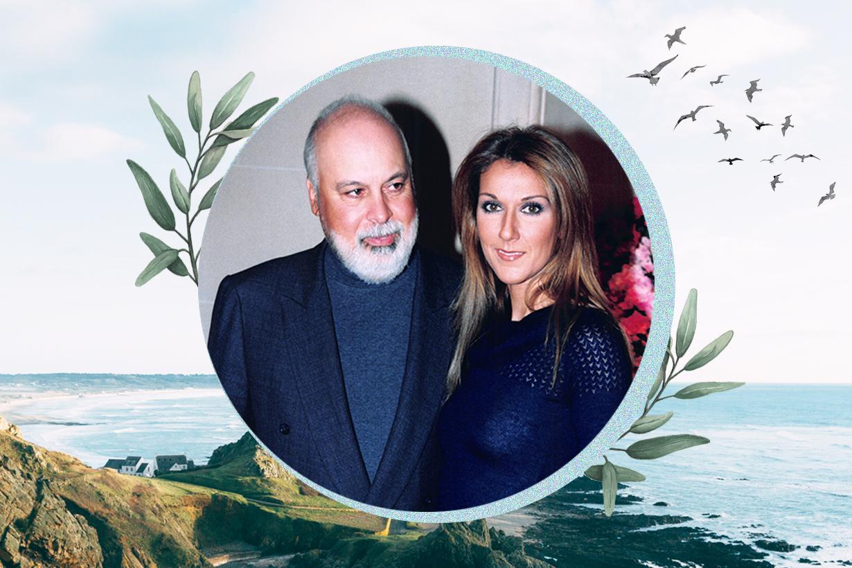 Celine Dion Rene Angelil Titanic My Heart Will Go ON La voix du bon Dieu Celebrities Couples Marriage Love Relationship