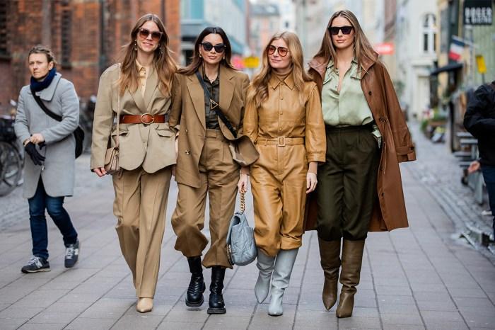 哥本哈根時裝週的街頭,幾乎每位女生也在穿這款靴!