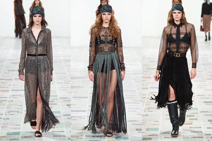 #PFW:以日誌口吻說著柔美與叛逆,為何 Dior 以平凡的西褲套裝作為開場?