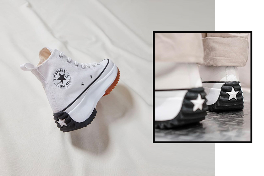 JW Anderson x Converse Run Star Hike sneakers new color release