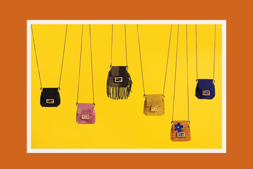 fendi pico baguette designer micro mini bag release
