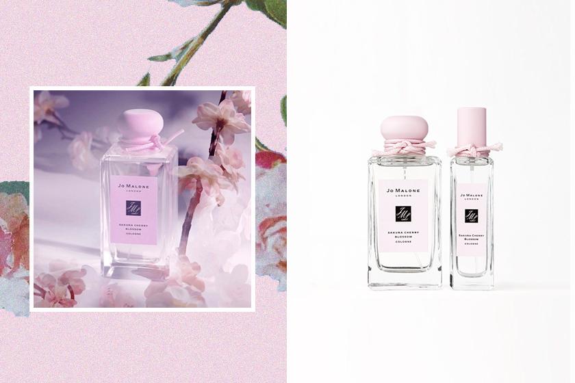 jo malone London sakura cherry blossom perfumes