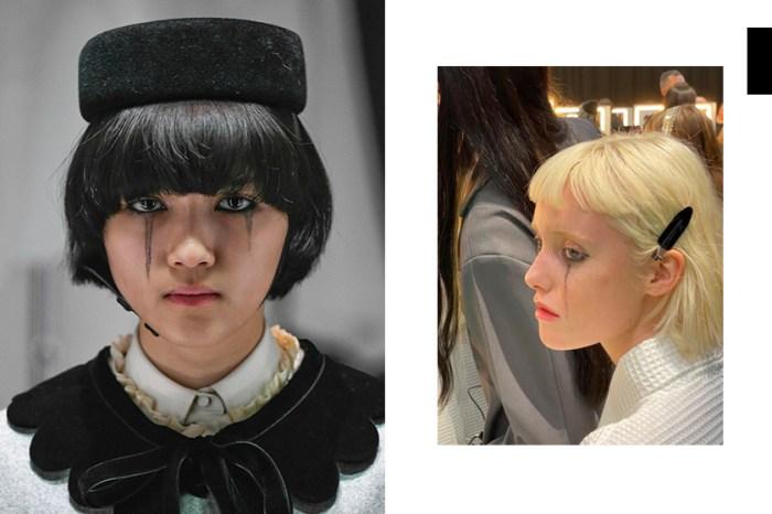 #MFW:大秀模特臉上的「黑淚痕」,其實 Gucci 背後藏著這一則訊息!