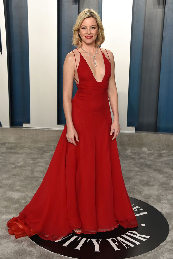 Elizabeth Banks Rewore the Oscars Dress She Wore to the Same Party in 2004