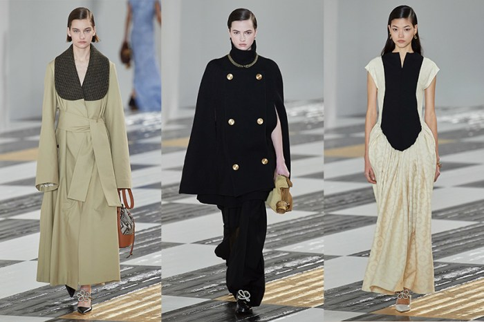 #PFW:吹奏著東西方的悠揚曲調,Loewe 將日本藝術雜揉進溫雅的品牌基因!