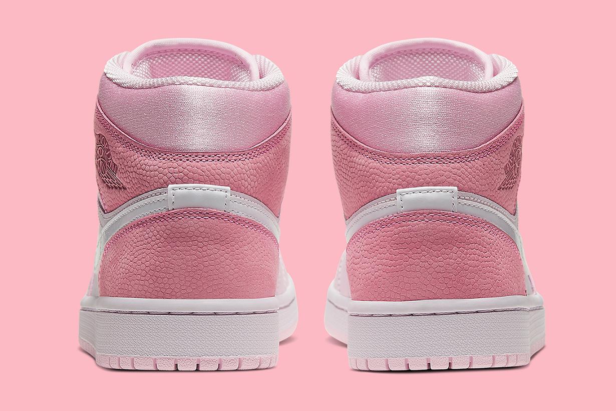 air Jordan 1 mid pink white release info