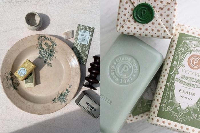 印上封蠟:復古絕美設計的百年皇室香皂品牌,不用遠赴葡萄牙也能買到了!