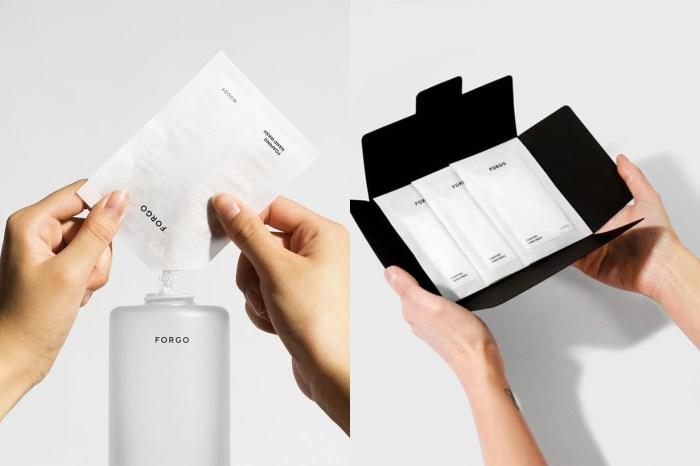 簡約、環保、方便:瑞典品牌 Forgo 的洗手液或許能解決你最近需要常清潔的問題!