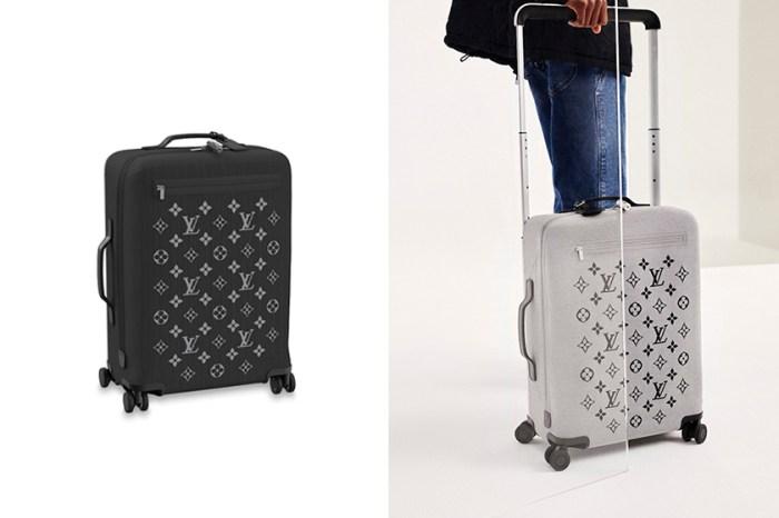 陷入選擇障礙:Louis Vuitton 推出多色旅行箱,將經典 Monogram 完美移植!