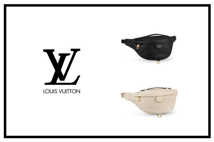 一包 4 種揹法:Louis Vuitton 這款低調簡約腰包,奶油白與霧黑質感配色!