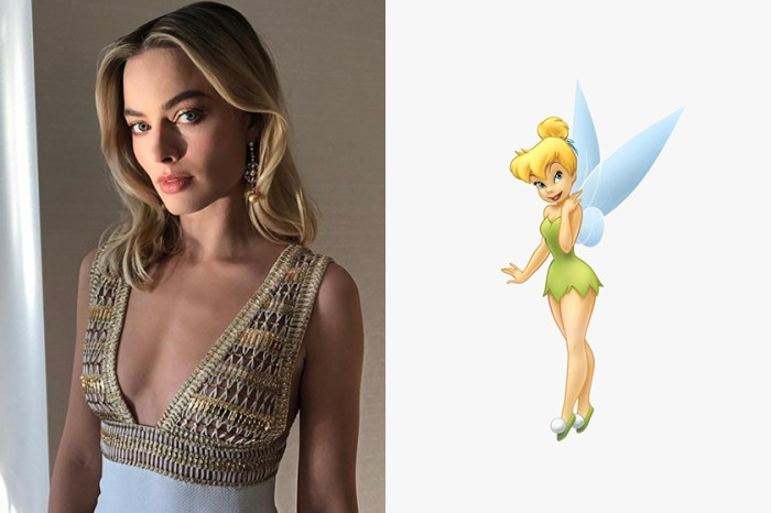 又多了一個無法想像的角色,Margot Robbie 將飾演《Peter Pan》真人版中的小仙子?