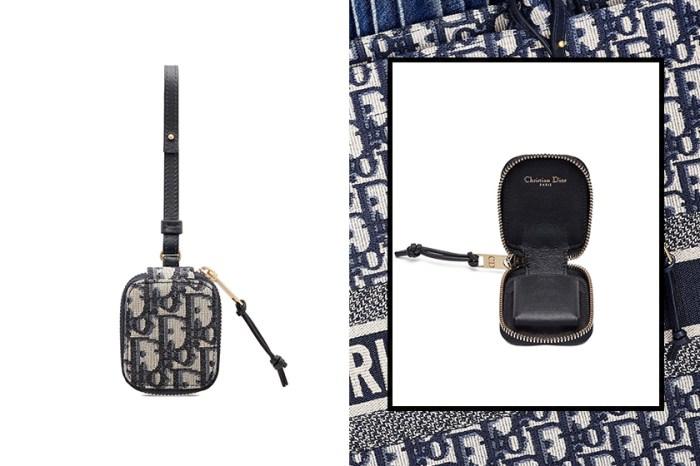 Dior 推出全新 AirPods 保護殼,以經典 Oblique 緹花設計展現優雅氛圍!