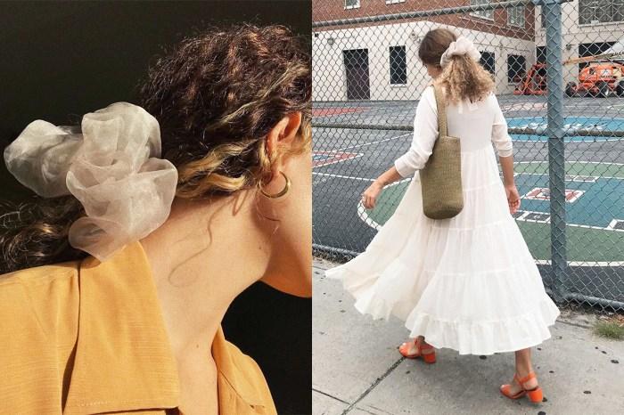 風靡歐美女生!假若你喜歡 Scrunchie 髮圈的話,今年該入手巨型版!