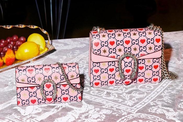 大受歡迎的愛心圖騰回來了:Gucci 的限定配件、手袋、珠寶,送禮自用兩相宜!