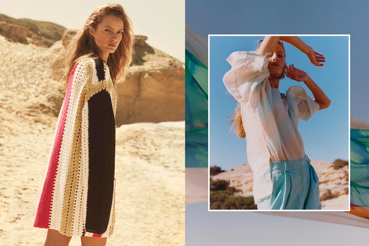 H&M Studio 2020 ss items lookbook when swimwear