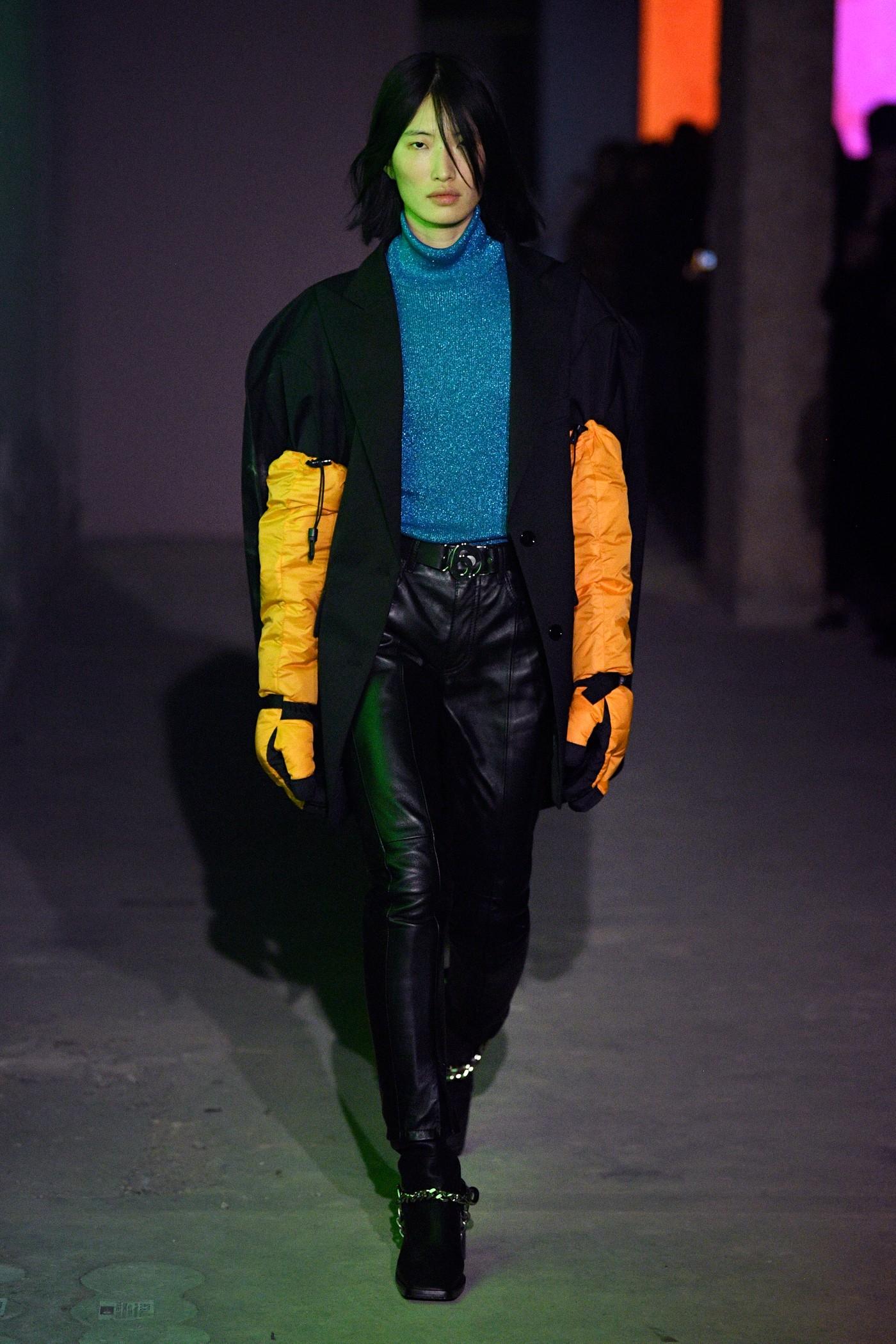 mm6 maison margiela the north face collaboration aw20 lfw fashion show