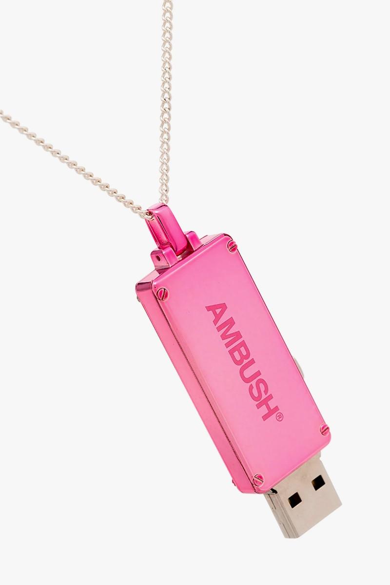 ambush usb pendant necklace release info