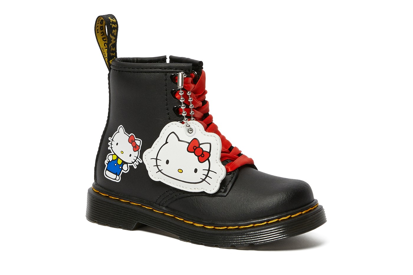 dr Martens hello kitty collaboration collection boots shoes