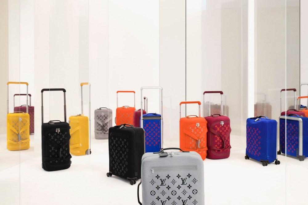 Louis vuitton monogram suitcases are the ultimate luxury