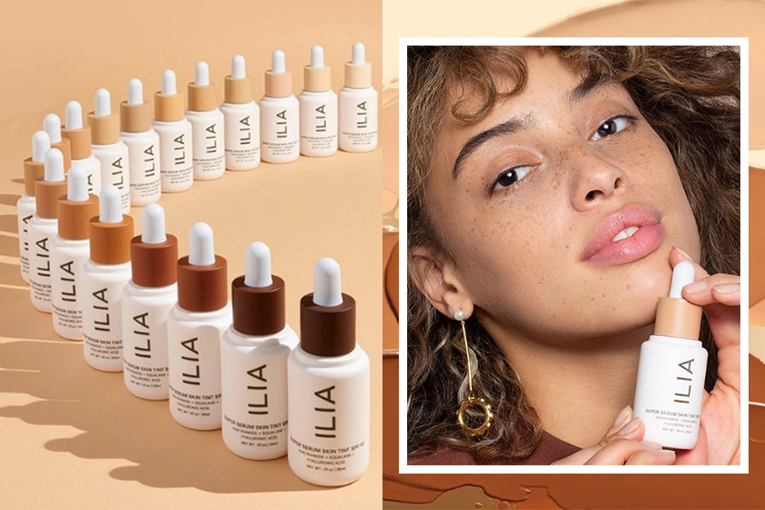 ilia clean beauty vegan super serum skin tint spf 40 makeup skincare
