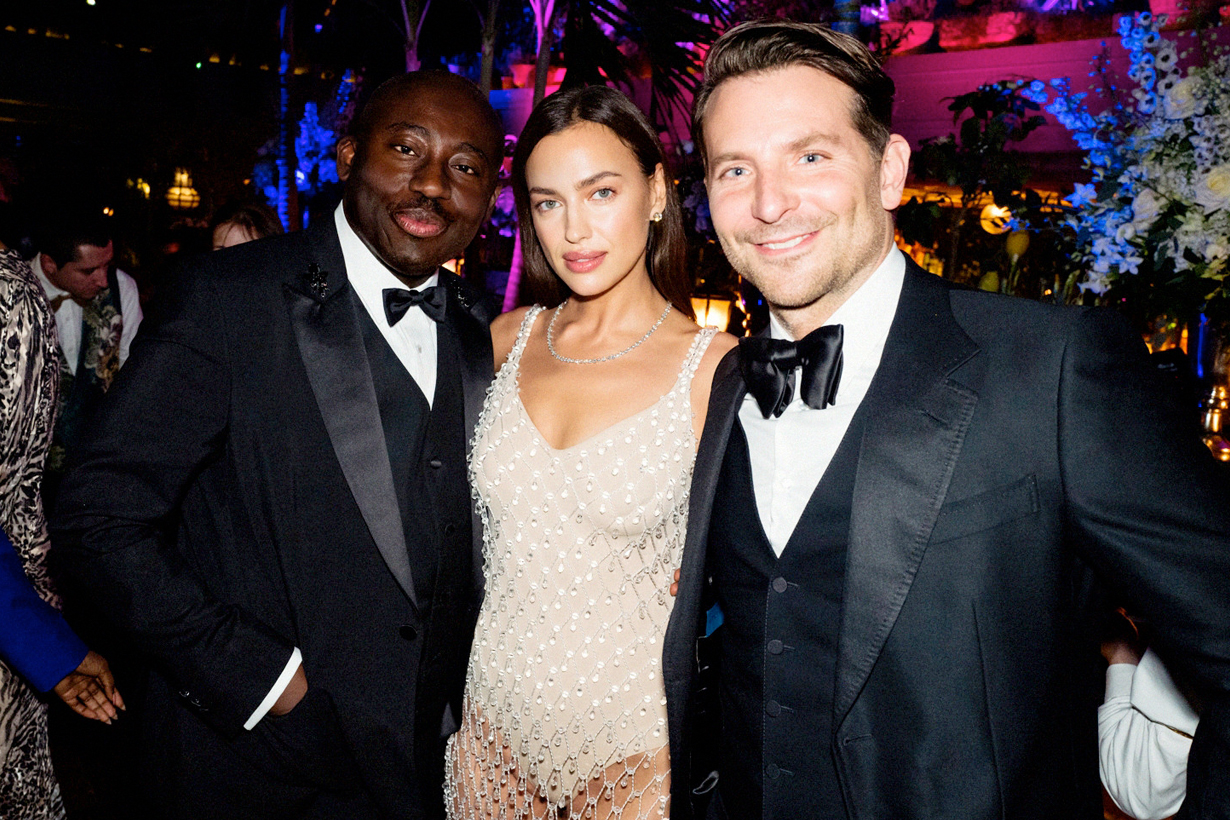 irina shayk bradley cooper BAFTA after party first met