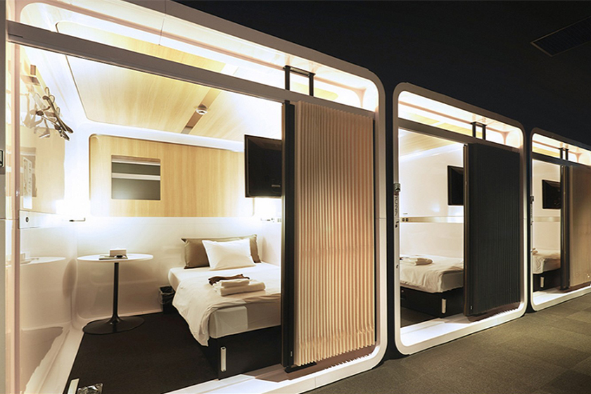 japan first cabin hotel travel