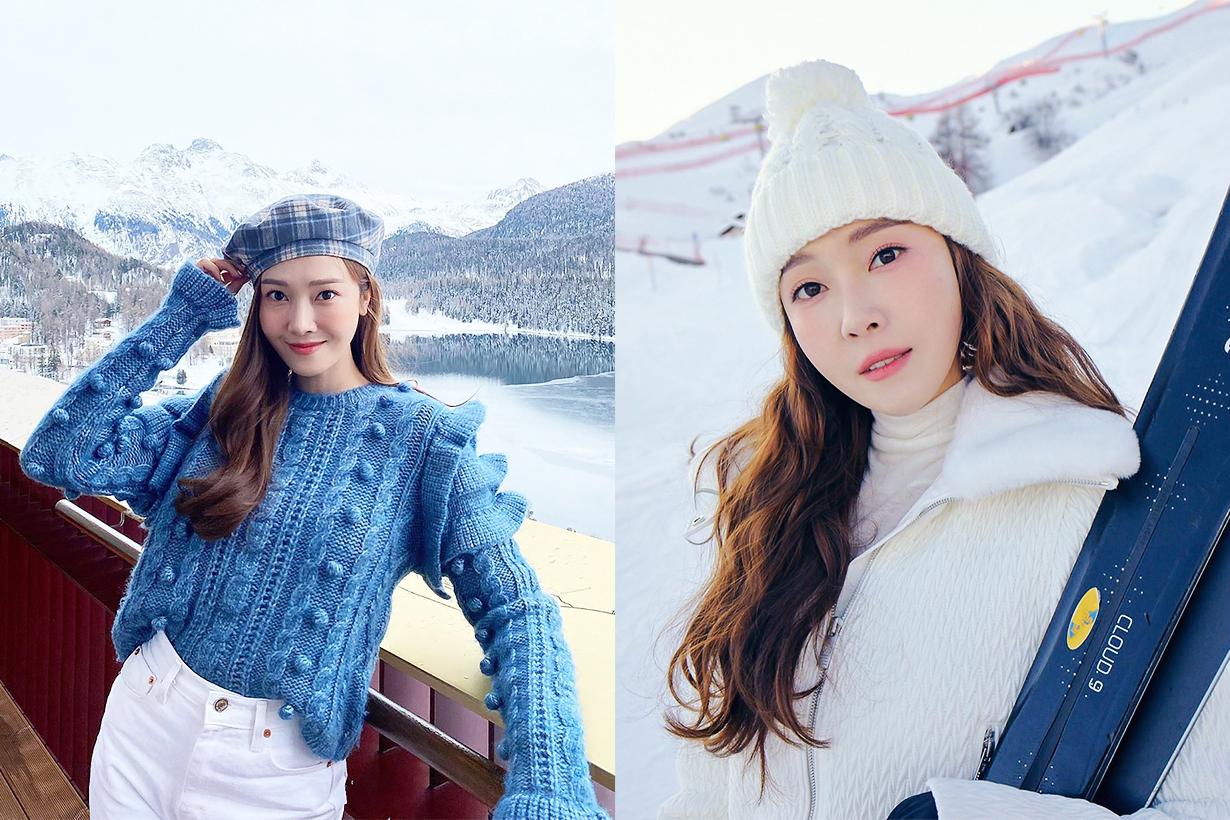 Jessica Jung Jung Soo Youn Celebrities Makeup Tips Amuse Makeup Winter Makeup Trend 2020 Blush Lipstick Lip Tint Korean Cosmetics Makeup k pop korean idols celebrities singers