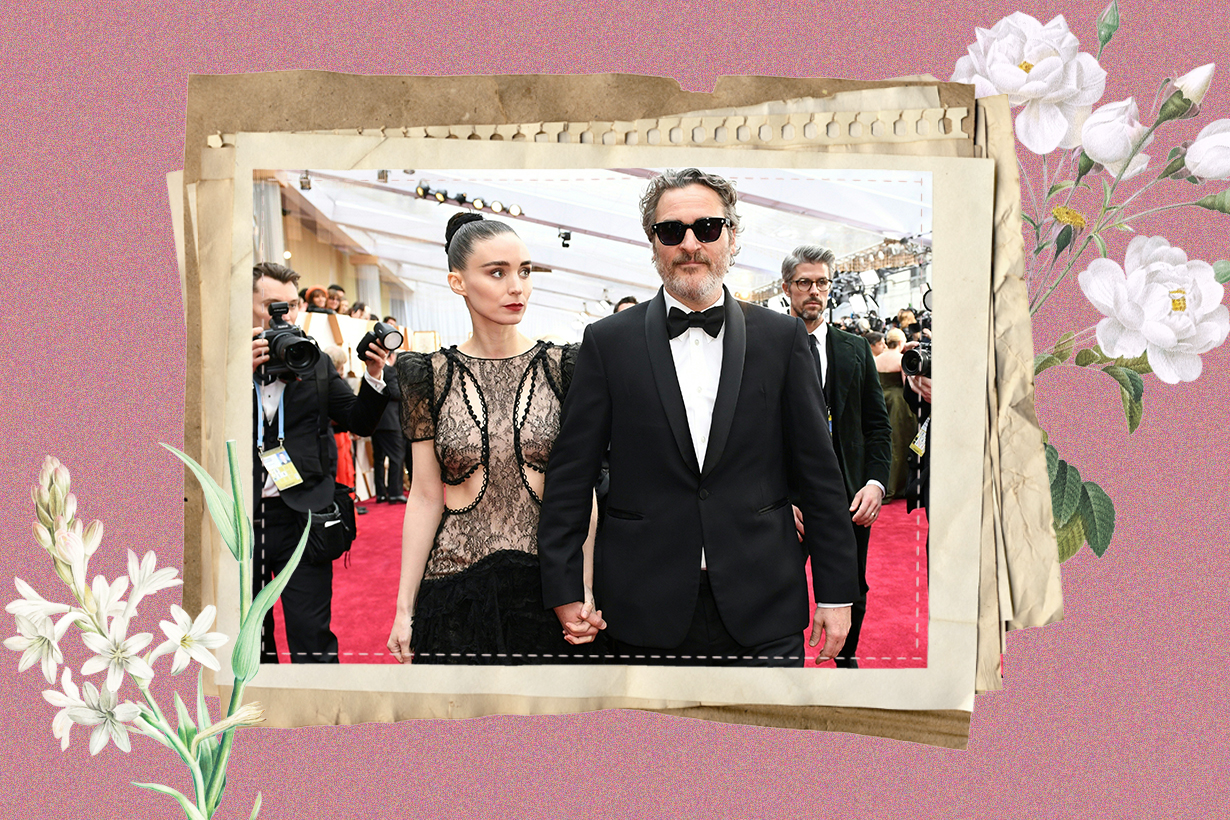 Joaquin Phoenix Rooney Mara Joker Oscars 2020 Best Actors Love Story Celebrities Couples True Love Her The Girl with the Dragon Tattoo Hollywood Actors