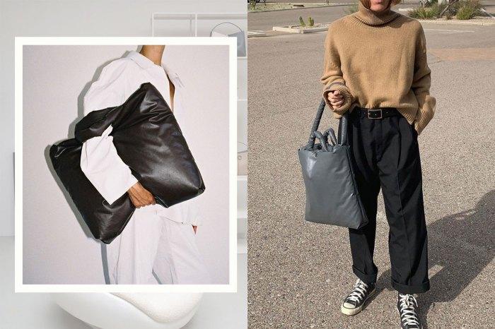 時尚蓬脹感+驚人容量!這個荷蘭品牌的手袋,可說是名牌的最佳代替品